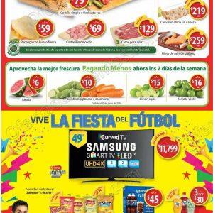 Walmart: Ofertas fin de semana de carnes, frutas y verduras del 8 al 10 de Junio
