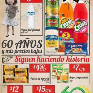 Bodega Aurrerá: Folleto de Ofertas 60 Aniversario del 4 al 13 de Junio 2018