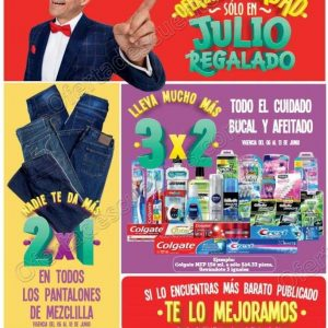 Folleto Julio Regalado 2018 del 6 al 14 de Junio