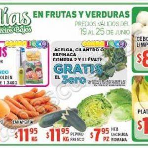 HEB: 7 Días de precios bajos en frutas y verduras del 19 al 25 de junio 2018