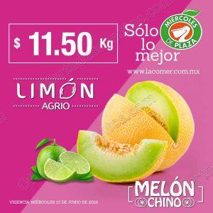 La Comer: Frutas y Verduras Miércoles de Plaza 13 de junio 2018