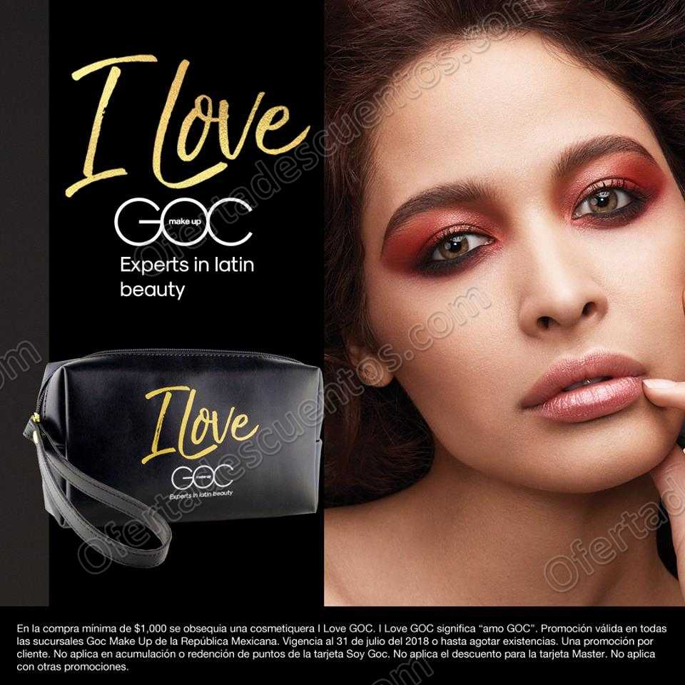 GOC: Gratis cosmetiquera con compra mínima
