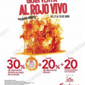 Gran Venta al Rojo Vivo Sanborns del 21 al 26 de Junio 2018