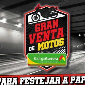 Bodega Aurrerá: Gran Venta de Motos 18 meses sin intereses + 1 mes de bonificación