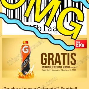 7Eleven: Gratis Gatorade Football Mango 500 ml