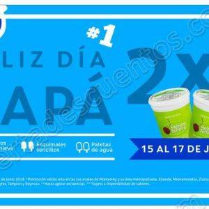 Helados Sultana: Promoción Día del Padre 2×1 en litros de nieve, paletas y esquimales