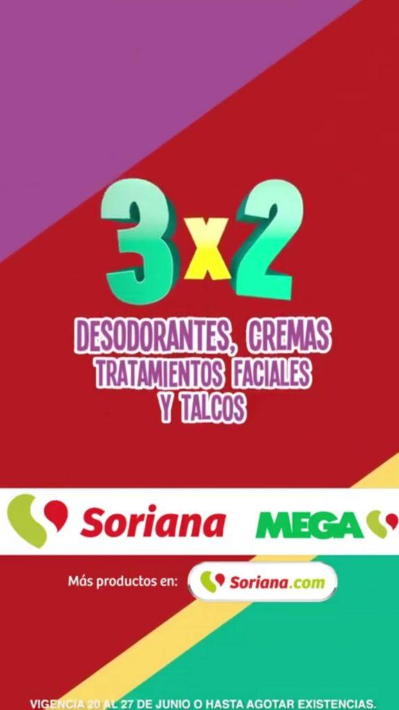Julio Regalado 2018: 3×2 en todos los desodorantes, cremas, tratamientos faciales y talcos
