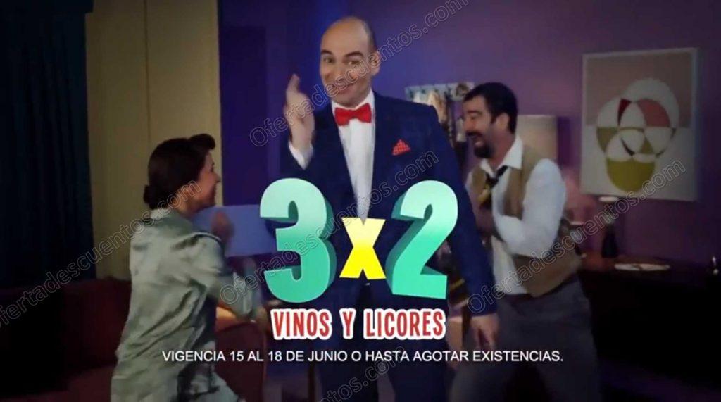 Julio Regalado 2018: 3×2 en Vinos y Licores