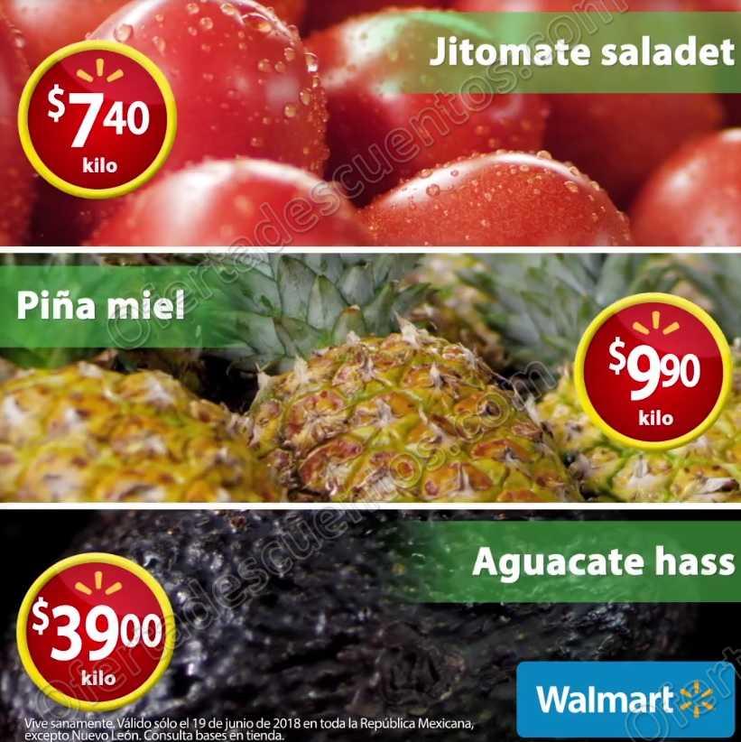 Ofertas Martes de Frescura Walmart 19 de Junio