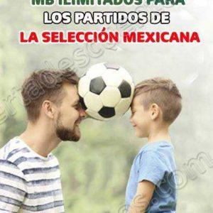 Telcel: Megas Ilimitados GRATIS para ver los partidos de México en el Mundial Rusia 2018