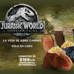 Cinépolis: Promocionales Los Increíbles 2 y Jurasic World el Reino Caído
