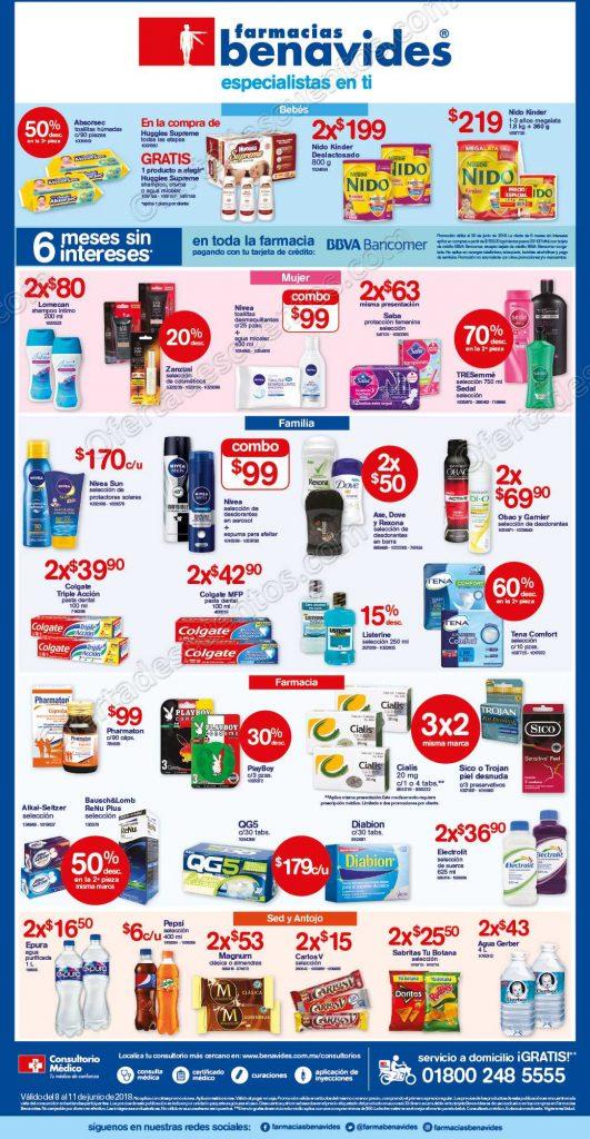 Farmacias Benavides: Promociones de fin de semana del 8 al 11 de Junio de 2018