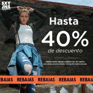 SXY Jeans: Rebajas con hasta 40% de descuento