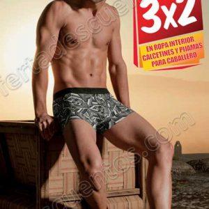 Sears: 3×2 en ropa interior, calcetines y pijamas para caballero al 17 de Junio
