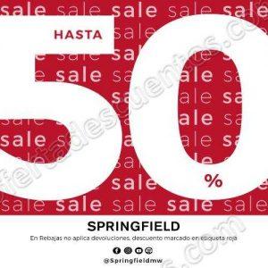 Springfield: Rebajas con hasta 50% de descuento