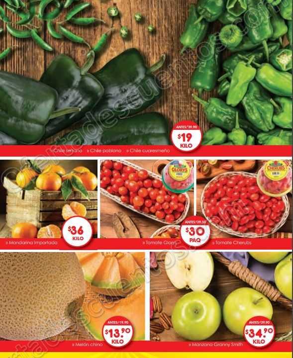 Superama: Frutas y Verduras Especiales de la Quincena del 4 al 18 de Junio