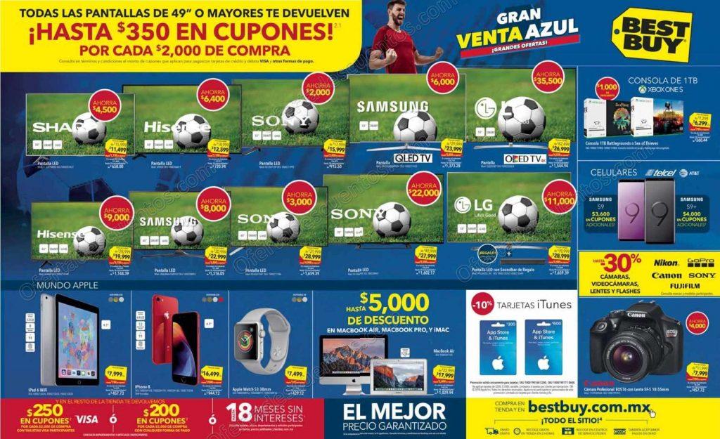 Gran Venta Azul Best Buy: $250 en cupones por cada $2,000 de compra y más promociones