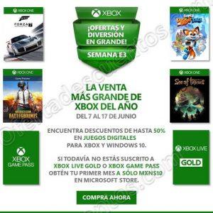 Xbox Store: Suscripción Xbox Live Gold o Xbox Game Pass a solo $10