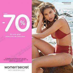 Women'Secret: Hasta 70% de descuento en artículos seleccionados
