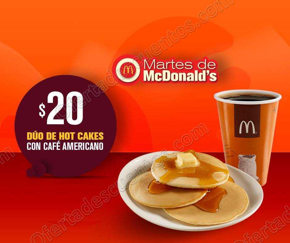 Cupones Martes de McDonald's 26 de Junio 2018