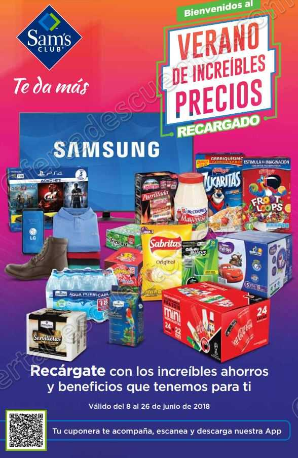 Cuponera Sam's Club del 8 al 26 de Junio 2018
