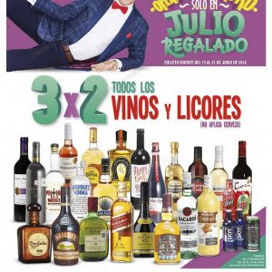 Folleto Julio Regalado 2018 del 15 al 21 de Junio