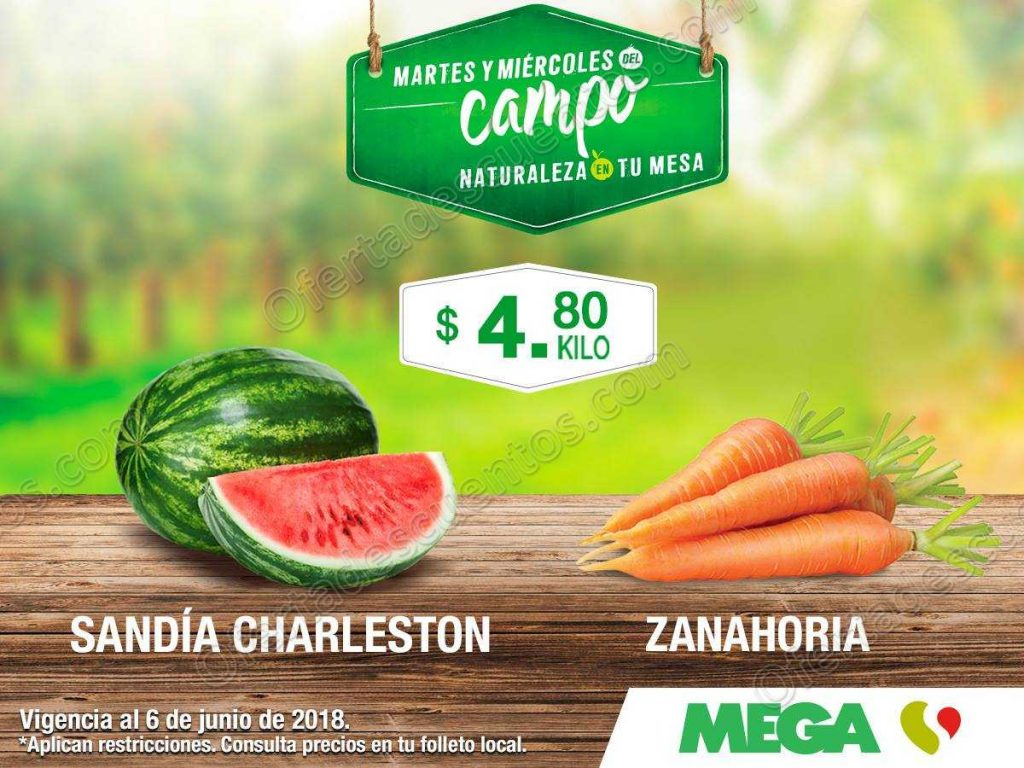 Frutas y Verduras Soriana 5 y 6 de Junio 2018