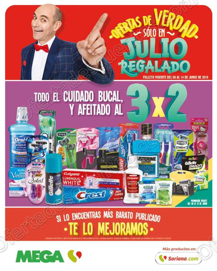 Julio Regalado 2018: Todo el Cuidado Bucal y Afeitado al 3×2