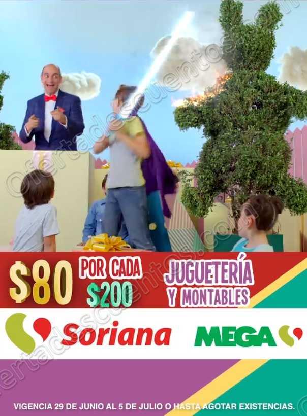 Julio Regalado 2018: $80 por Cada $200 de Compra en Toda la Juguetería