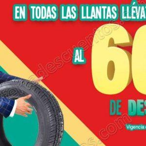 Julio Regalado 2018: 60% de Descuento en Segunda Llanta