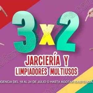 Julio Regalado 2018: 3×2 en Todos los Limpiadores y Jarciería
