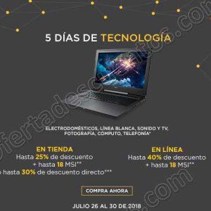 Palacio de Hierro: 5 Días de Tecnología del 26 al 30 de Julio 2018
