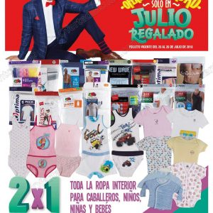 Folleto Julio Regalado 2018 del 20 al 26 de Julio
