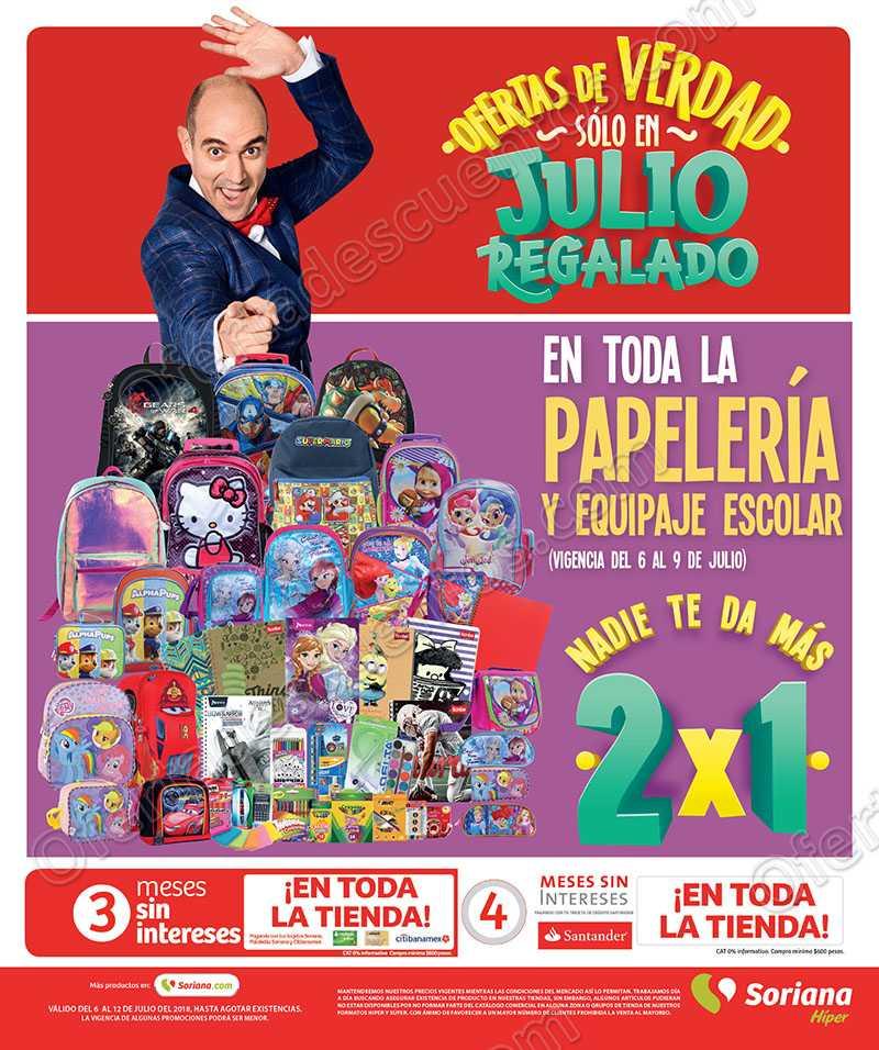 Folleto Julio Regalado 2018 del 6 al 12 de Julio