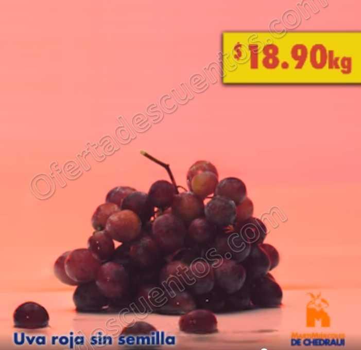 Frutas y Verduras Chedraui 10 y 11 de julio 2018