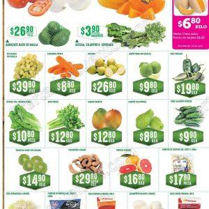 Frutas y Verduras Soriana 10 y 11 de Julio 2018