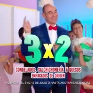 Julio Regalado 2018: 3×2 en todos los congelados, salchichonería y quesos empacados