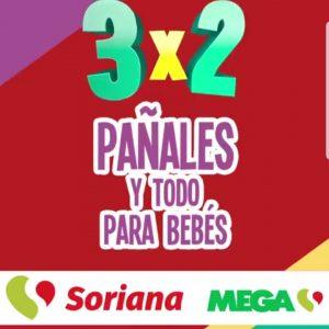 Julio Regalado 2018: 3×2 en pañales y Todo Para Bebes