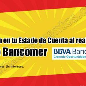 Chedraui: 5% de bonificación con Bancomer solo lunes 16 y martes 17 de Julio 2018