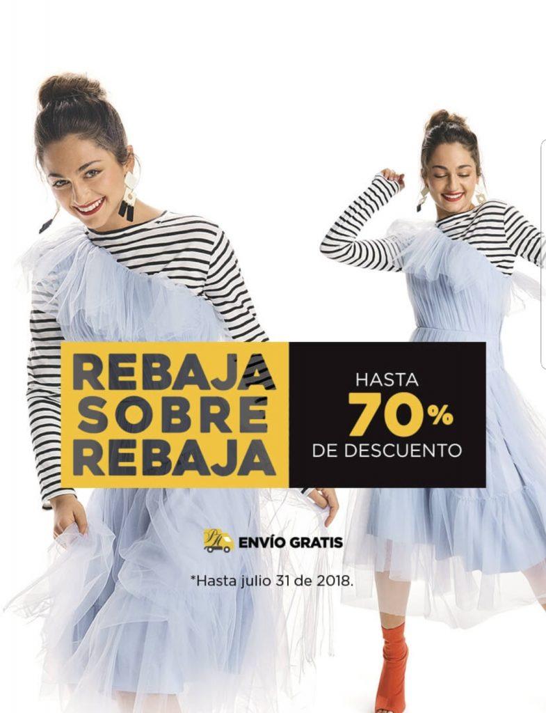Palacio de Hierro: Rabaja sobre Rebaja hasta 70% de descuento