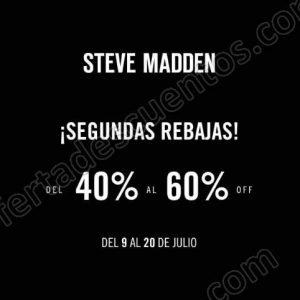 Steve Madden: Segundas Rebajas del 40% al 60% de descuento