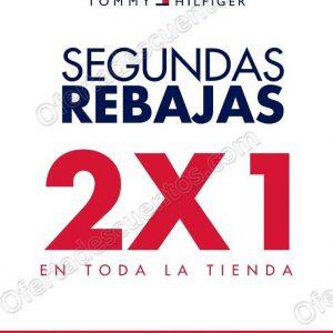 Tommy Hilfiger: Segundas Rebajas 2×1 en Toda la Tienda