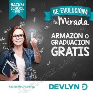 Devlyn: Regreso a Clases 2018 Armazon o Graduación Gratis