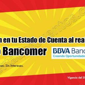 Chedraui: 5% de Bonificación en Estado de Cuenta con Crédito Bancomer