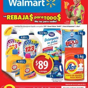 Walmart: Folleto de Ofertas del 16 al 31 de Julio de 2018