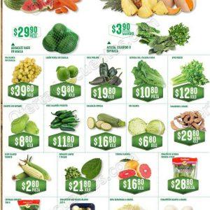 Frutas y Verduras Soriana 17 y 18 de Julio 2018