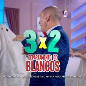 Julio Regalado 2018: 3×2 en Todo el Departamento de Blancos