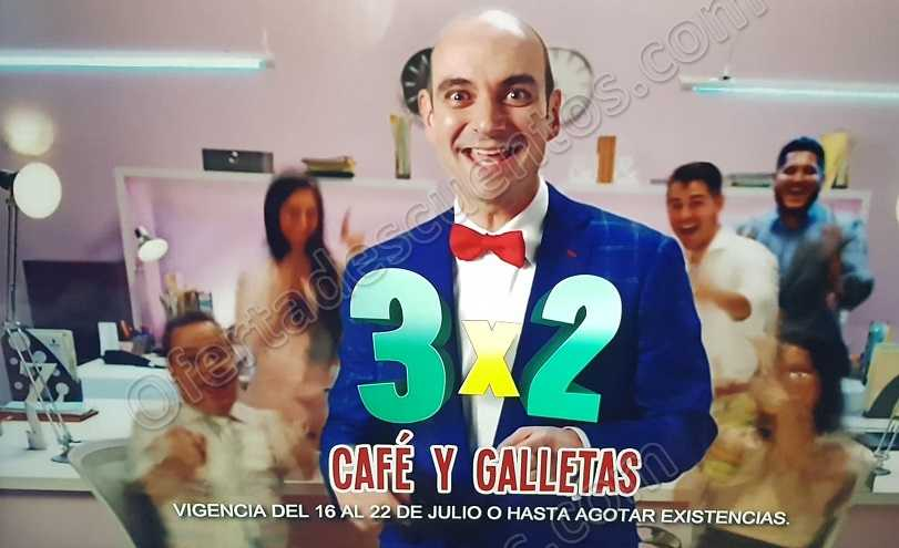 Julio Regalado 2018: 3×2 en Café y Galletas
