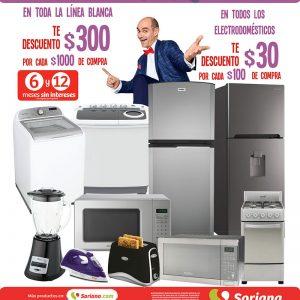 Julio Regalado 2018: $30 por Cada $100 de Compra en Electrodomésticos