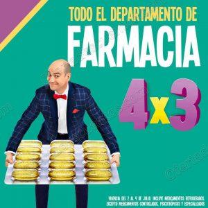 Julio Regalado 2018: 4×3 en Todo el Departamento de Farmacia